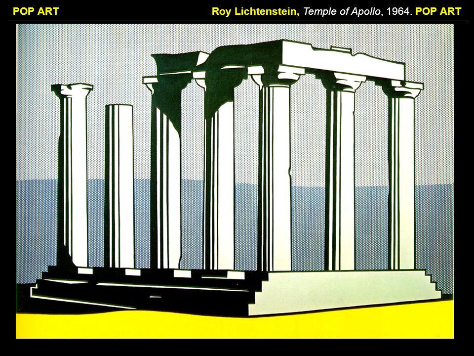 Roy Lichtenstein, Temple of Apollo, 1964. POP ART