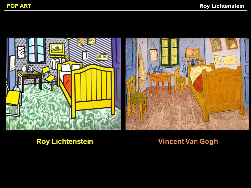 Roy Lichtenstein Vincent Van Gogh