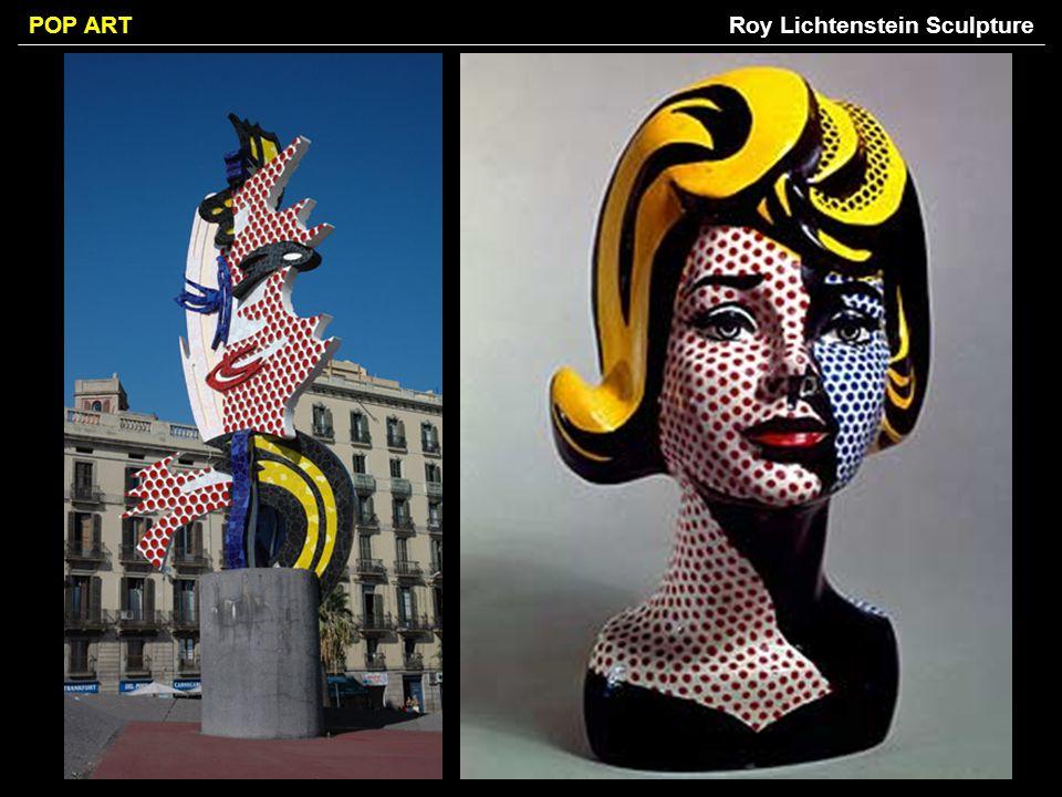 Roy Lichtenstein Sculpture