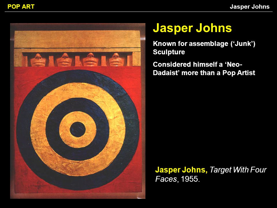 Jasper Johns Jasper Johns, Target With Four Faces, 1955.