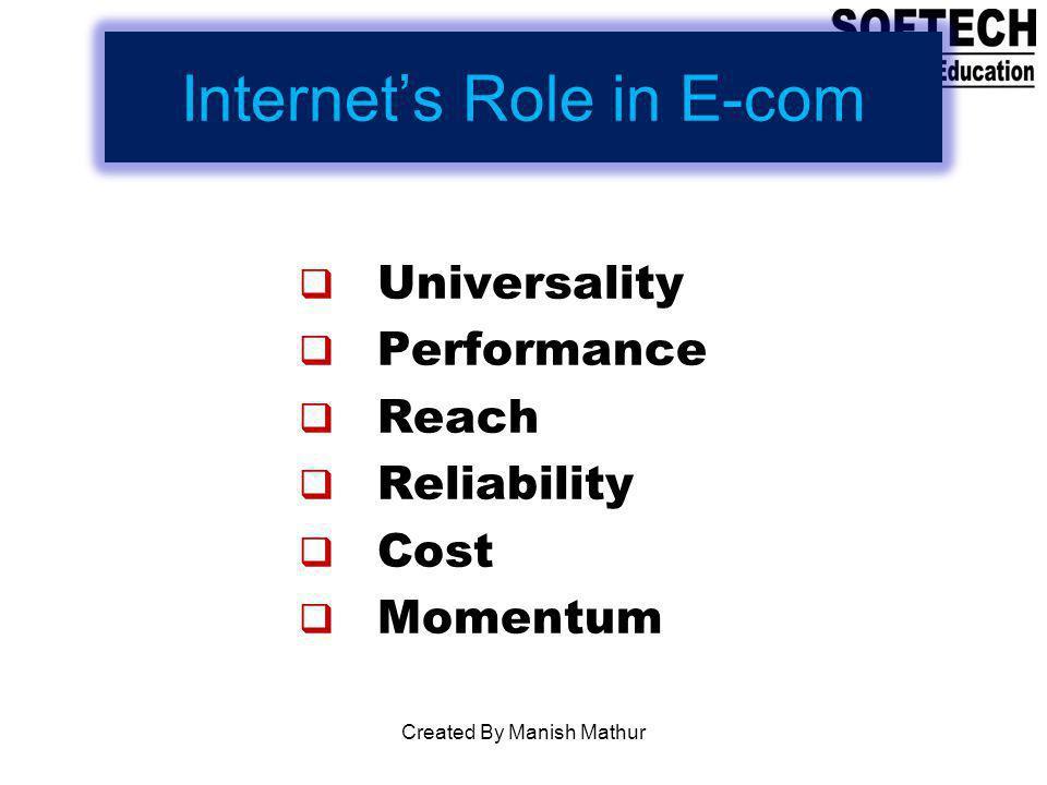 Internet's Role in E-com