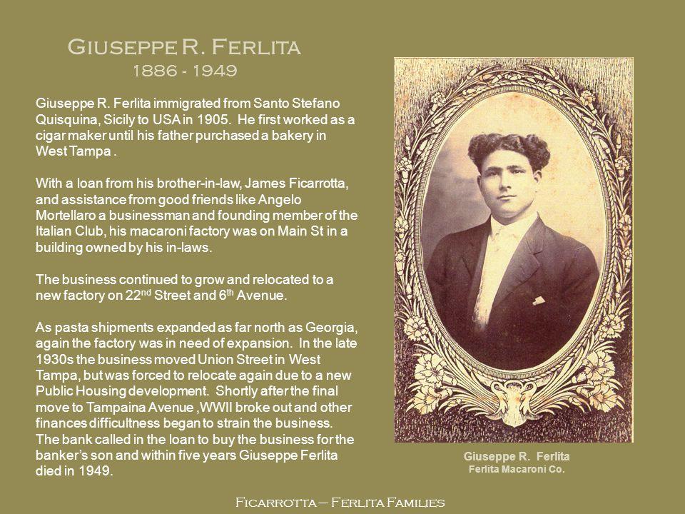 GIUSEPPE ROSARIO FERLITA