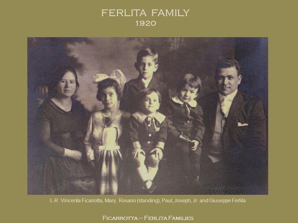Ficarrotta – Ferlita Families