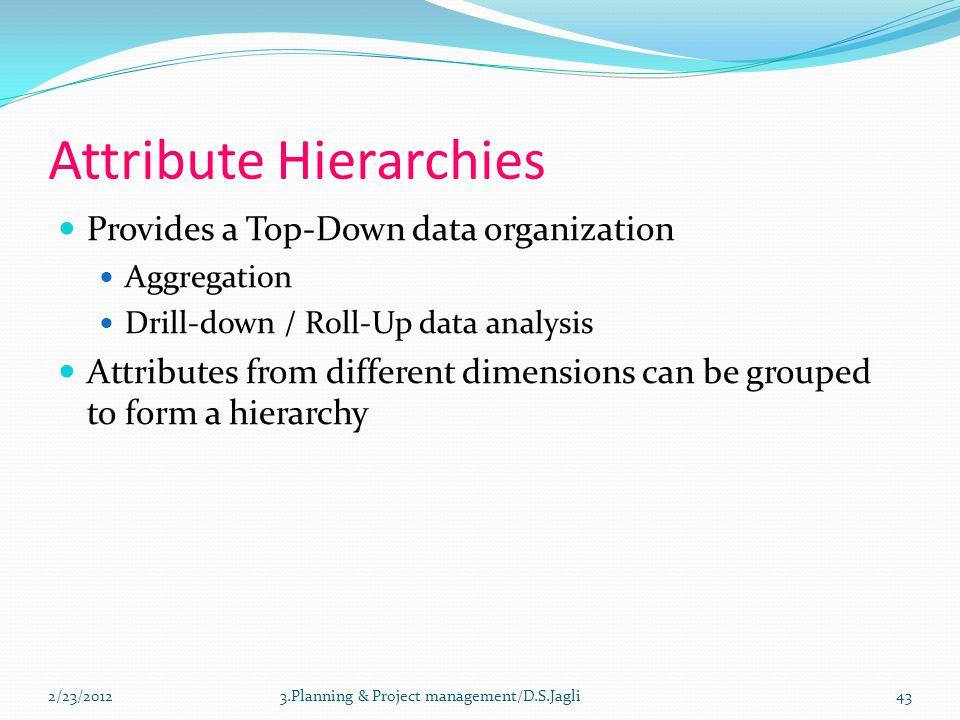 Attribute Hierarchies