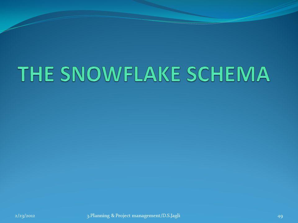 THE SNOWFLAKE SCHEMA 2/23/2012