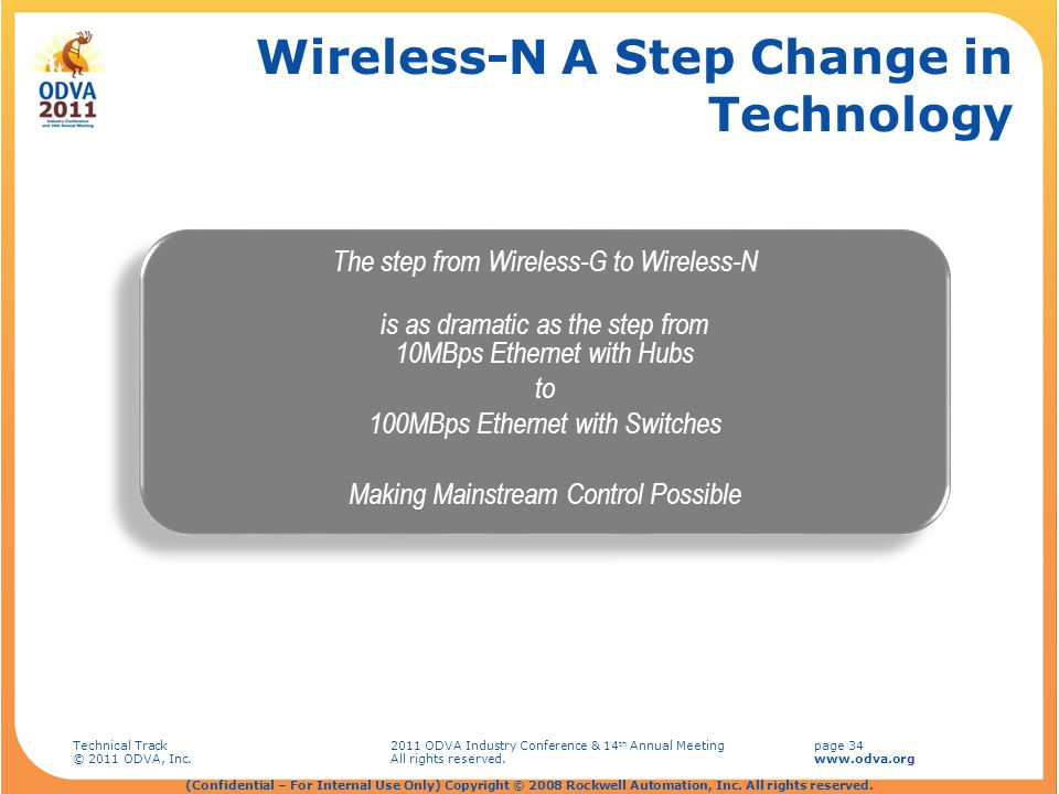 Wireless-N A Step Change in Technology