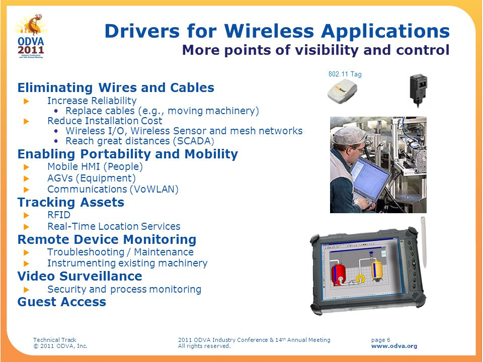 Drivers for Wireless Applications More points of visibility and control