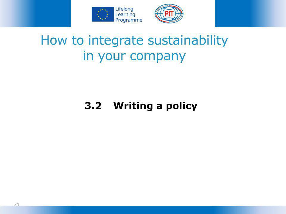 How to integrate sustainability in your company
