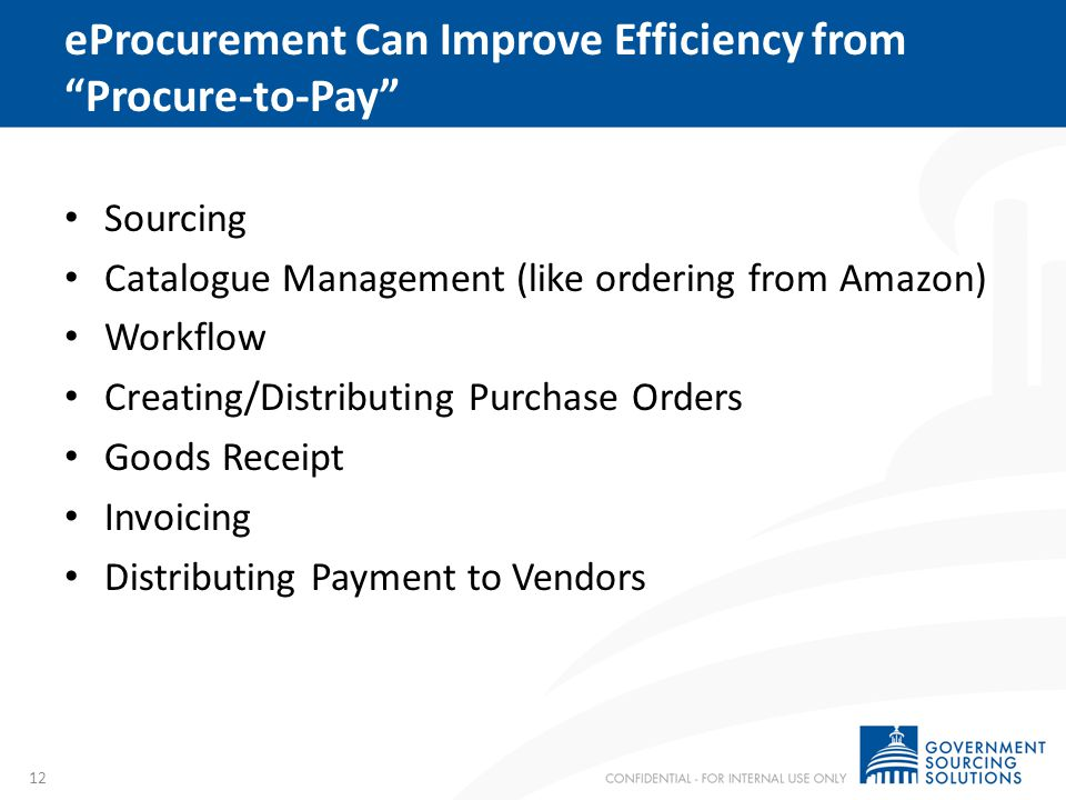 Case Study: Georgia Implemented eProcurement system