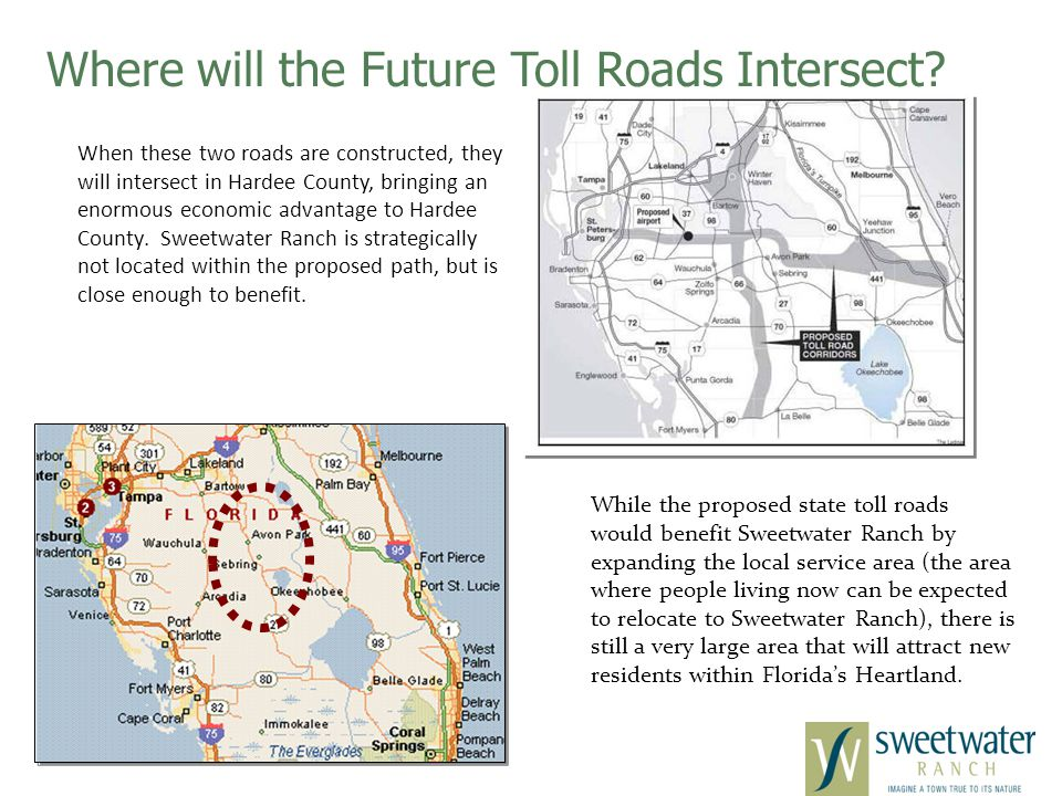 Where will the Future Toll Roads Intersect