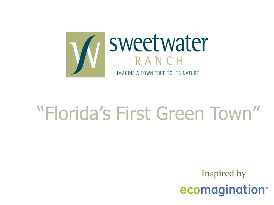 Florida's First Green Town