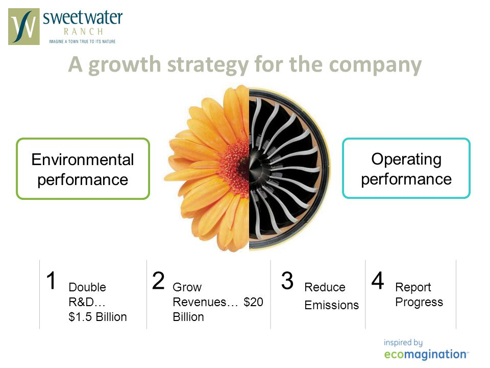 A growth strategy for the company