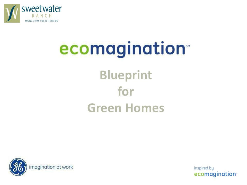 Blueprint for Green Homes