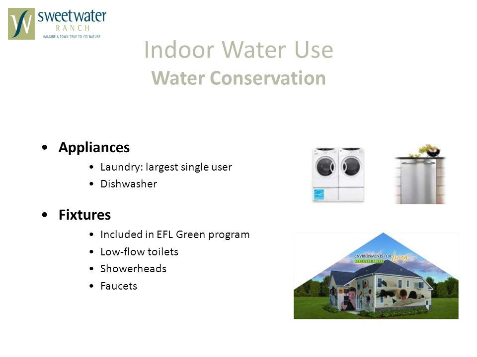 Indoor Water Use Water Conservation