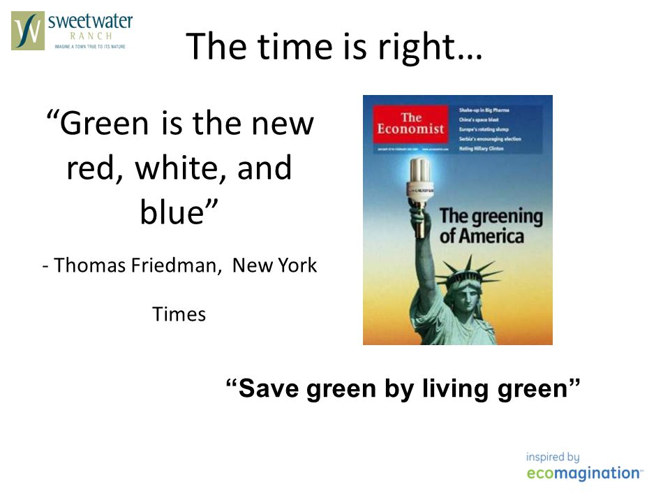 Save green by living green