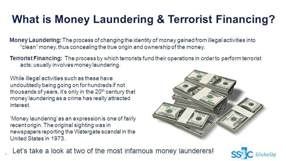 What is Money Laundering & Terrorist Financing
