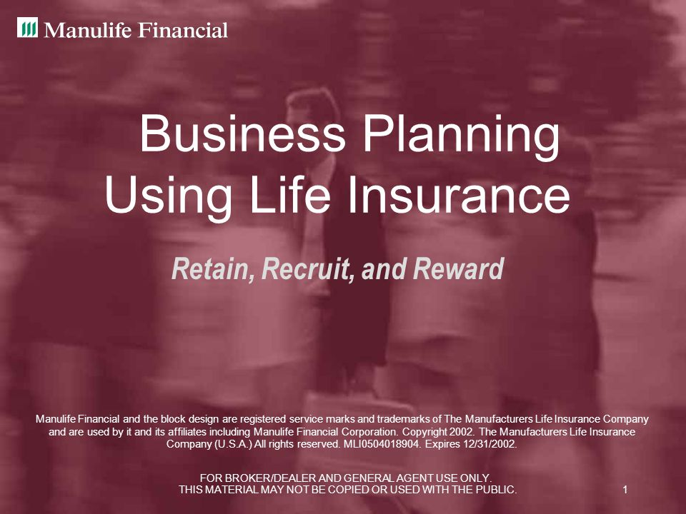 Business Planning Using Life Insurance