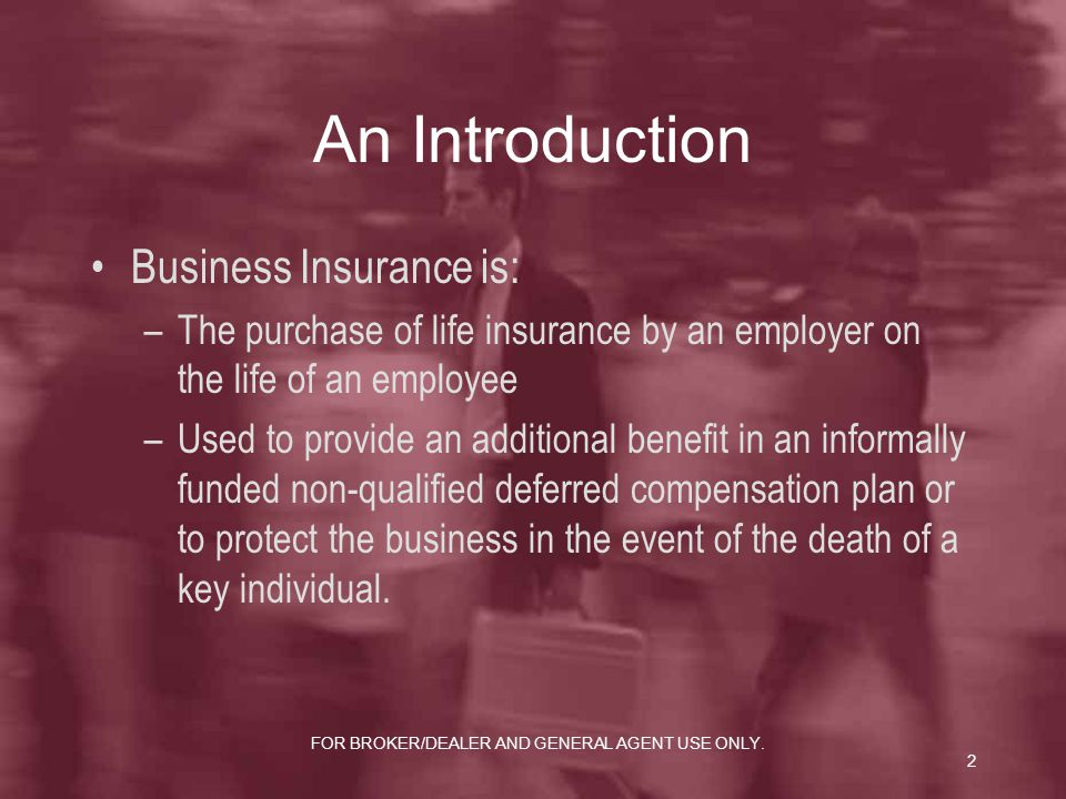 Business liability insurance