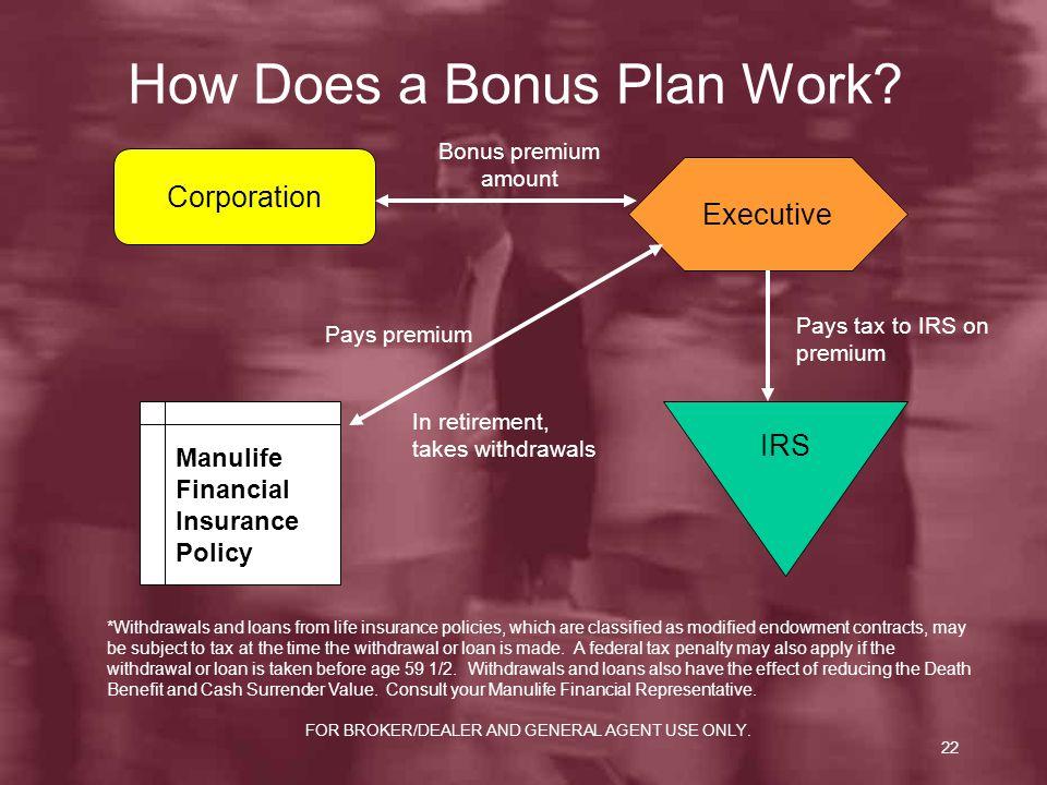 How Does a Bonus Plan Work