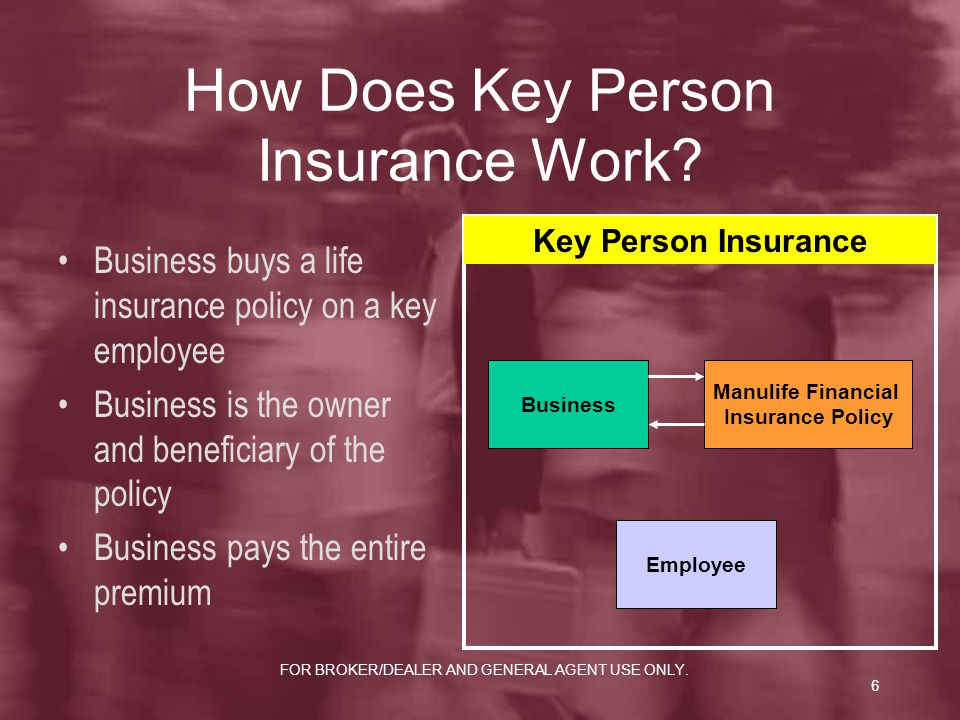 How Does Key Person Insurance Work