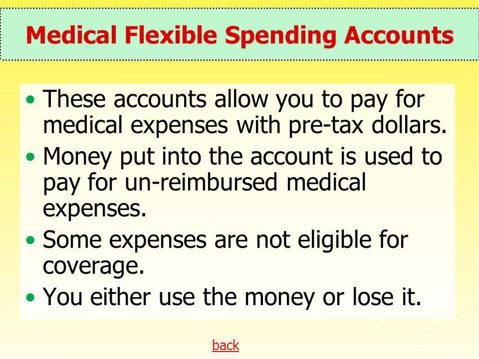 Medical Flexible Spending Accounts