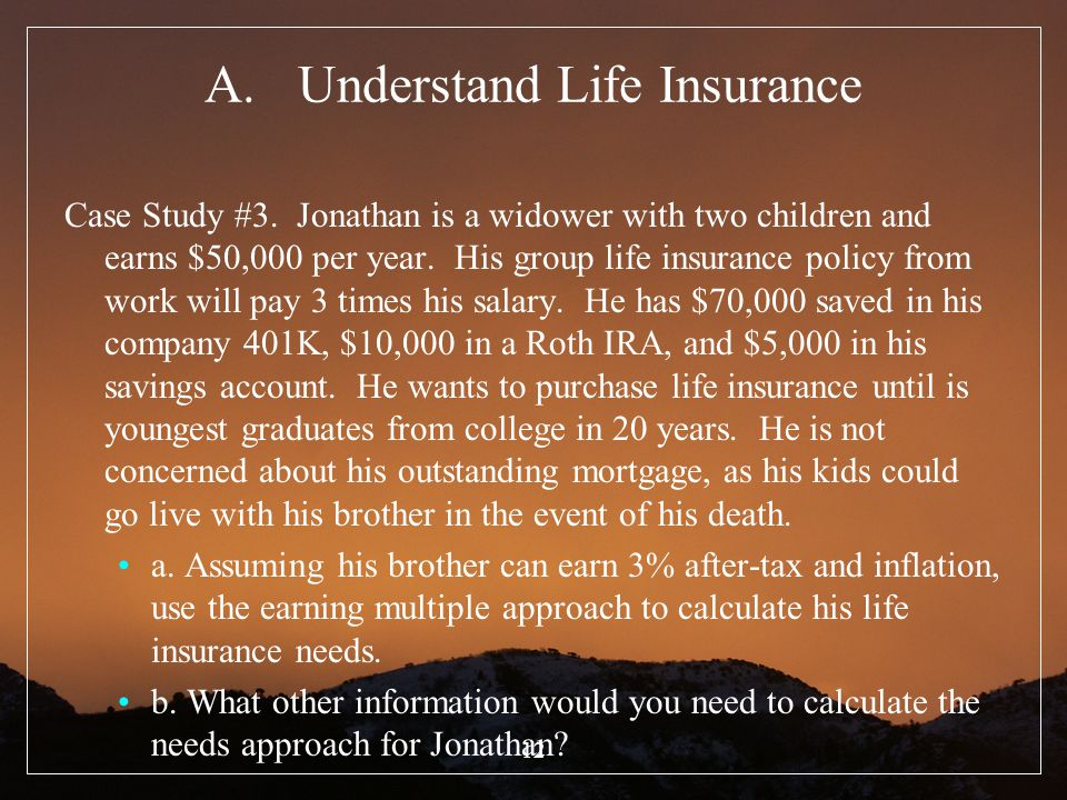 Understand Life Insurance