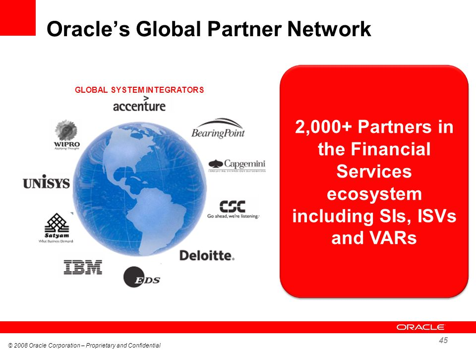 Oracle's Global Partner Network