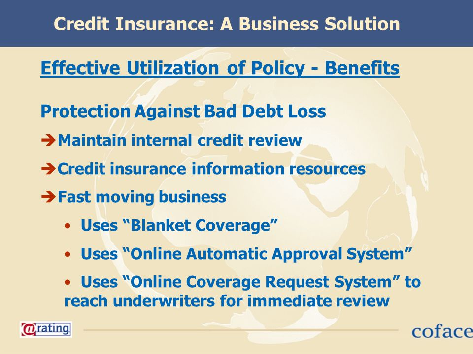 Credit Insurance: A Business Solution