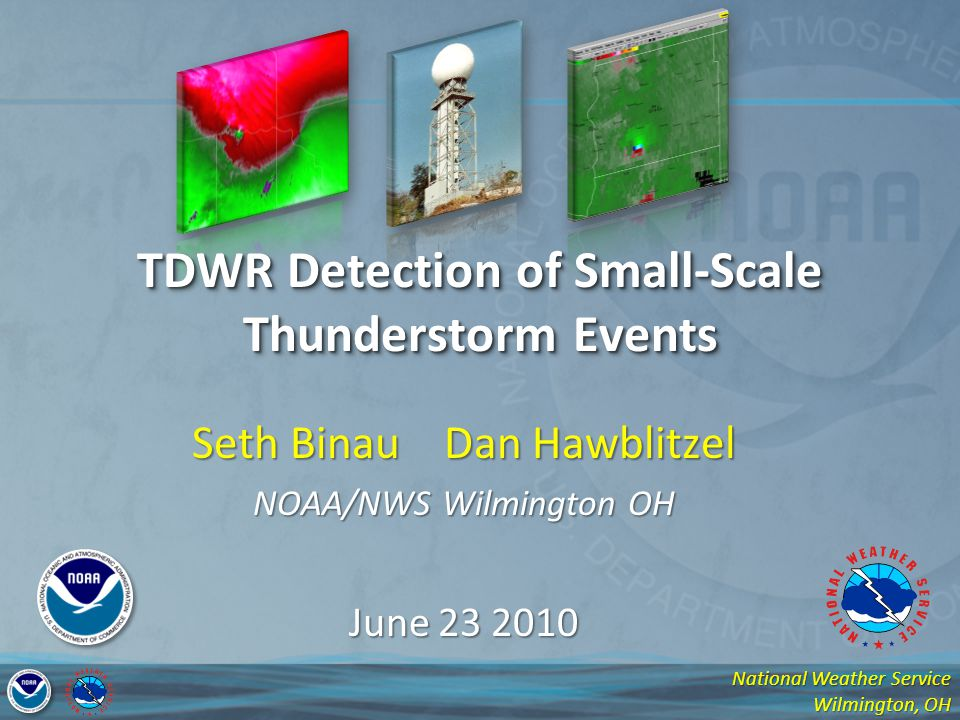 TDWR Detection of Small-Scale Thunderstorm Events