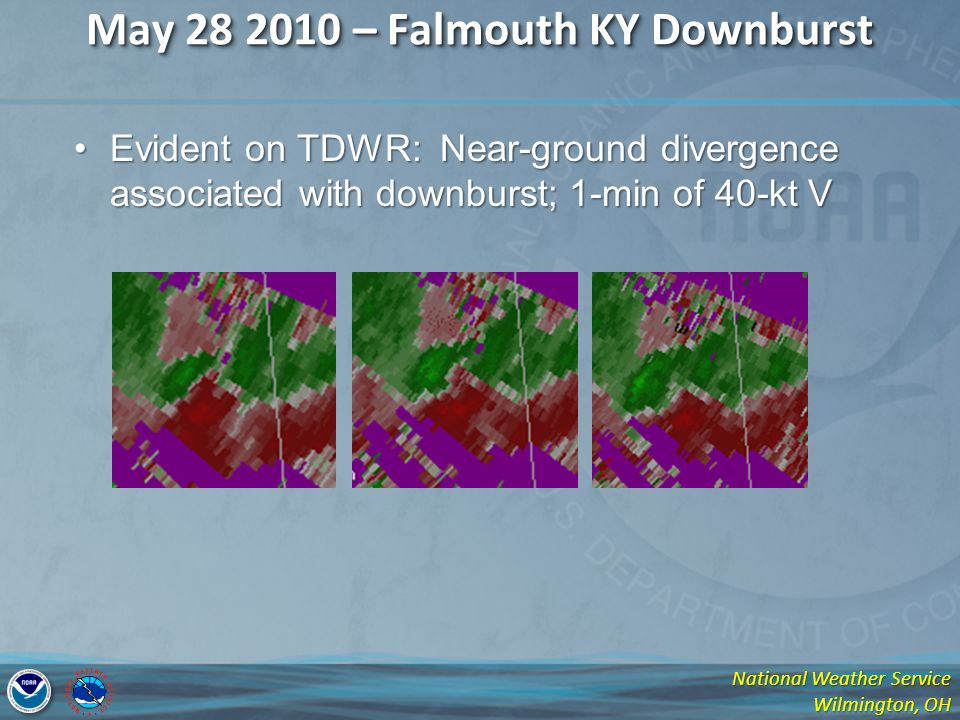 May 28 2010 – Falmouth KY Downburst