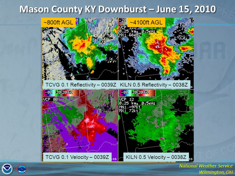 Mason County KY Downburst – June 15, 2010