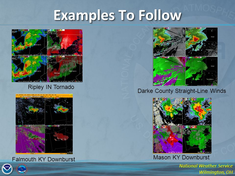 Examples To Follow Ripley IN Tornado Darke County Straight-Line Winds