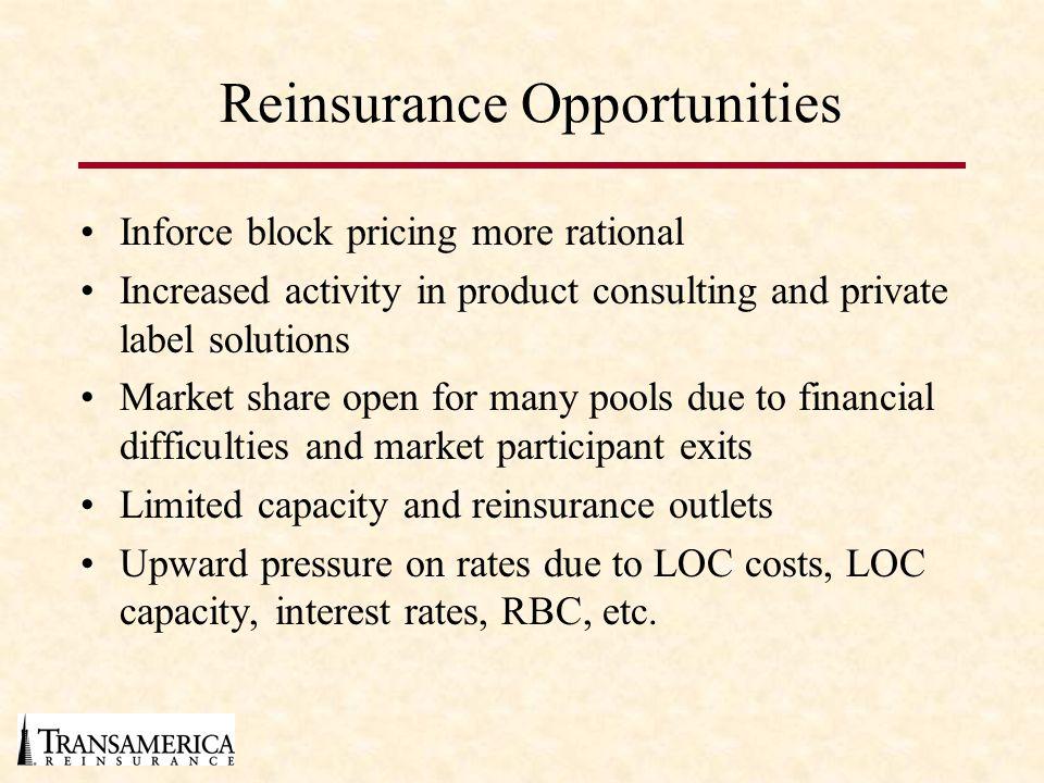 Reinsurance Opportunities