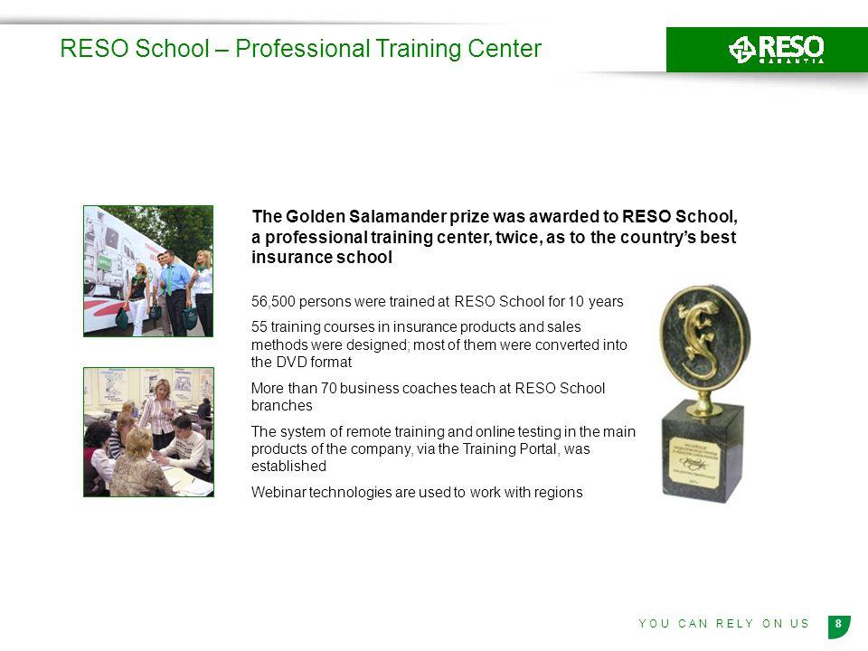 RESO School – Professional Training Center