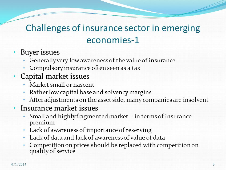 Challenges of insurance sector in emerging economies-1