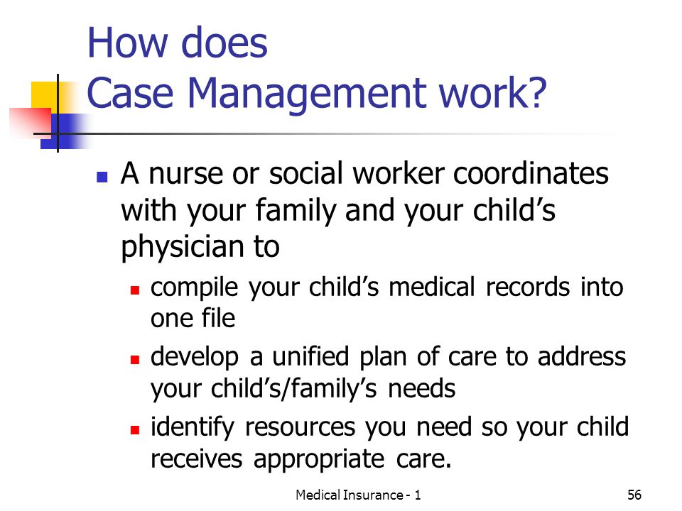 How does Case Management work