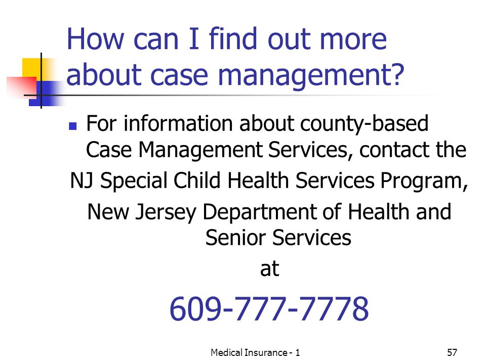 How can I find out more about case management