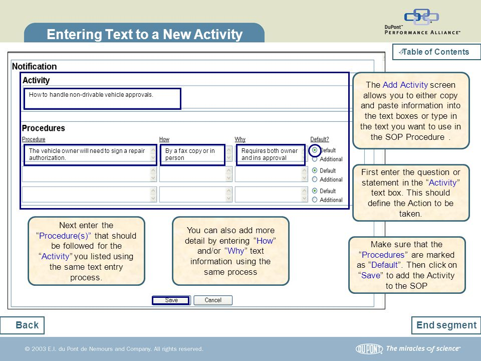 Entering Text to a New Activity