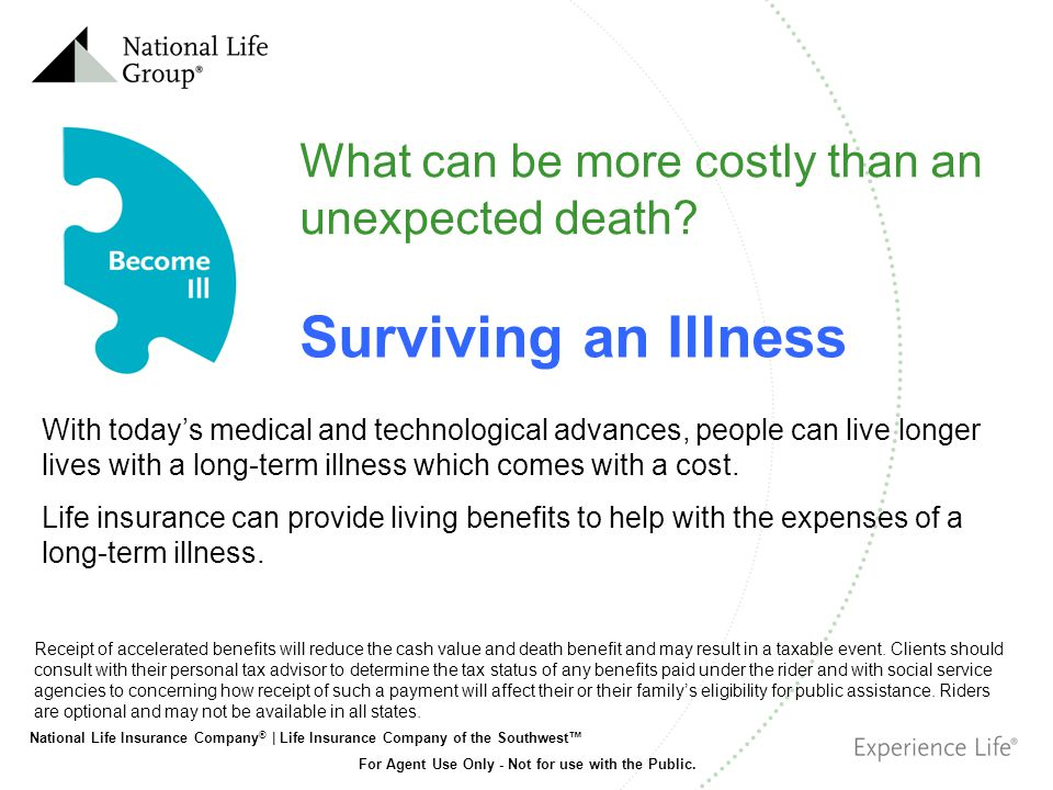 Surviving an Illness What can be more costly than an unexpected death
