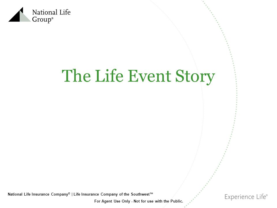 The Life Event Story Read slide