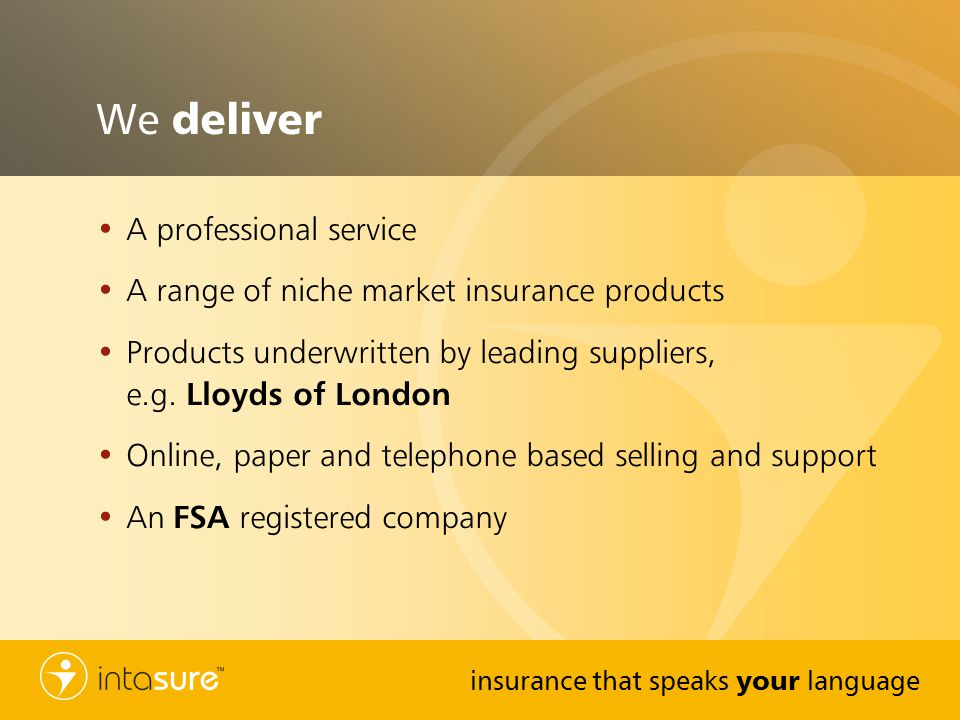 We deliver A professional service