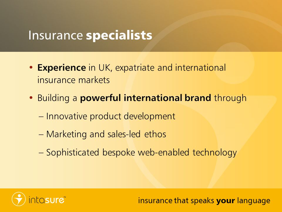 Insurance specialists