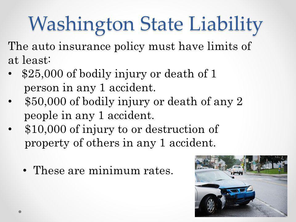 Washington State Liability