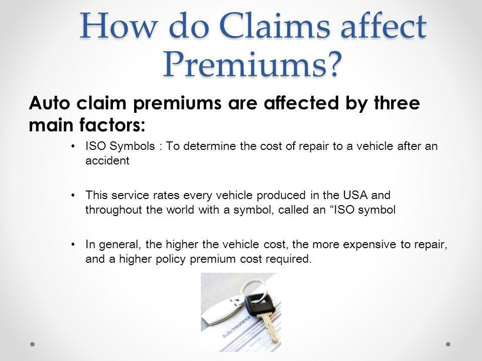 How do Claims affect Premiums