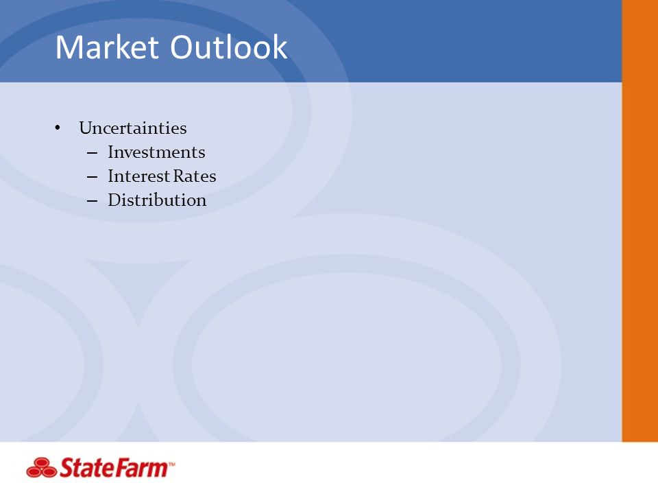 Market Outlook Uncertainties Investments Interest Rates Distribution