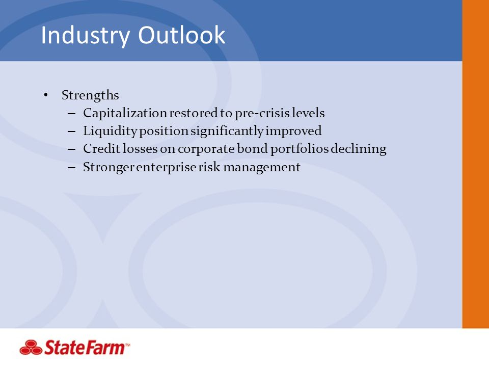Industry Outlook Strengths
