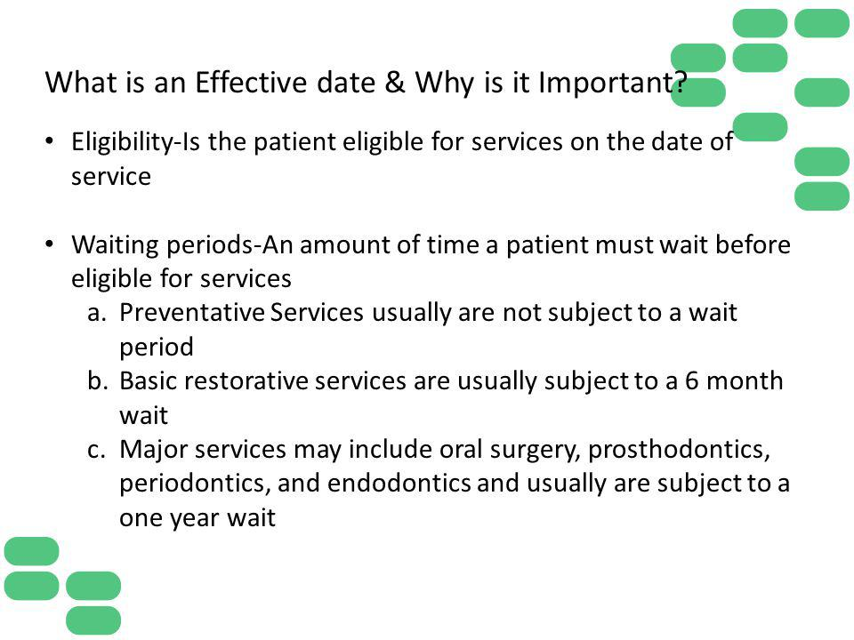 What is an Effective date & Why is it Important