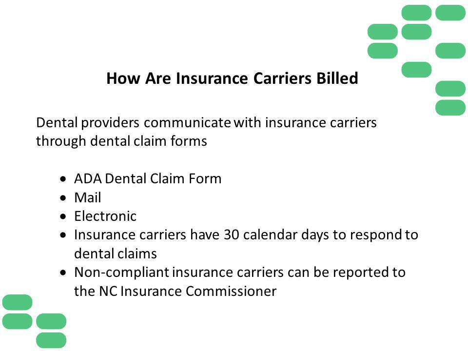 How Are Insurance Carriers Billed