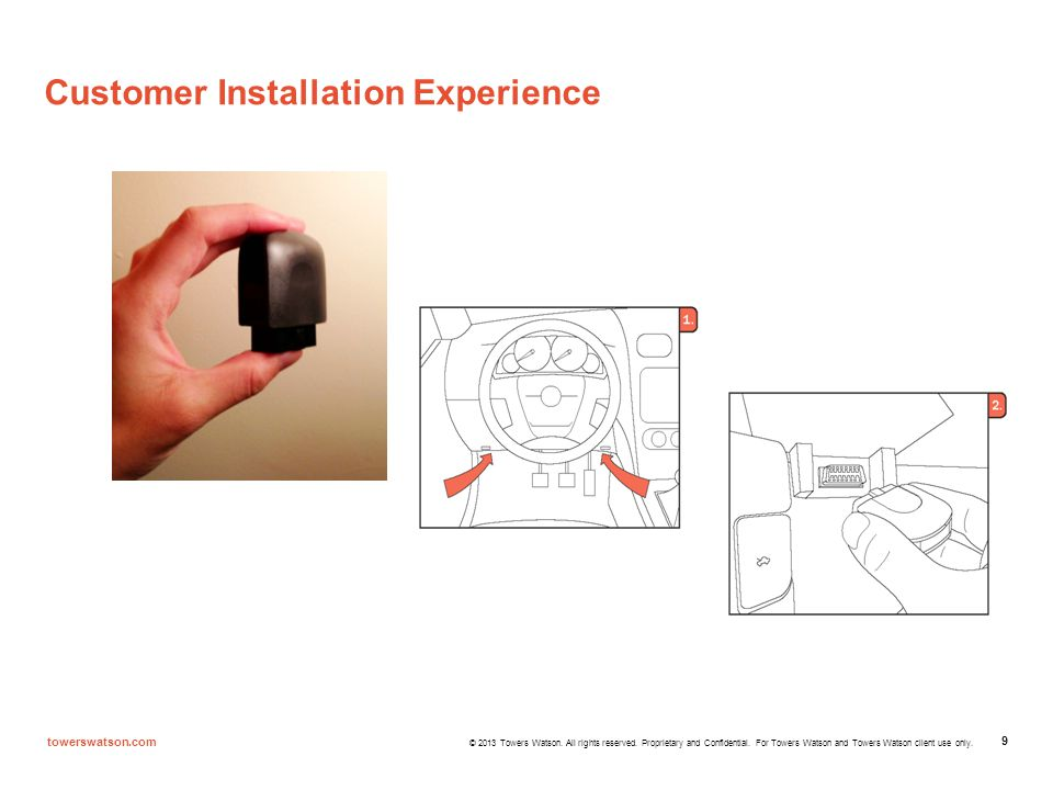 Customer Installation Experience