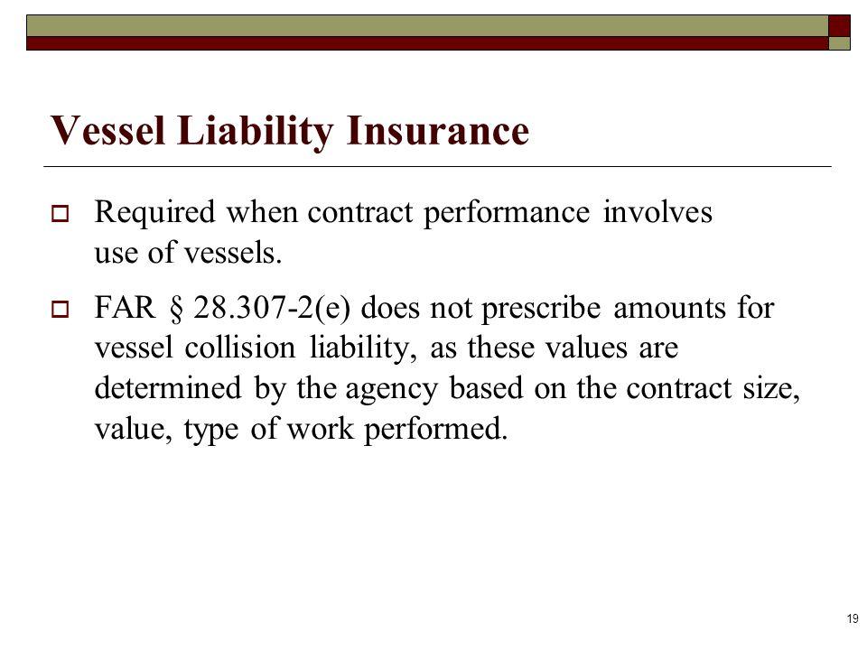 Vessel Liability Insurance